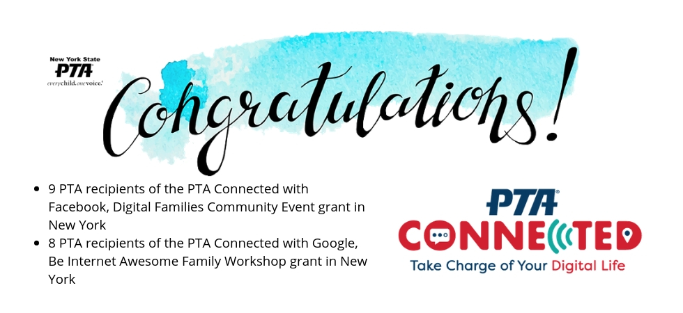 PTA connected wnners banner