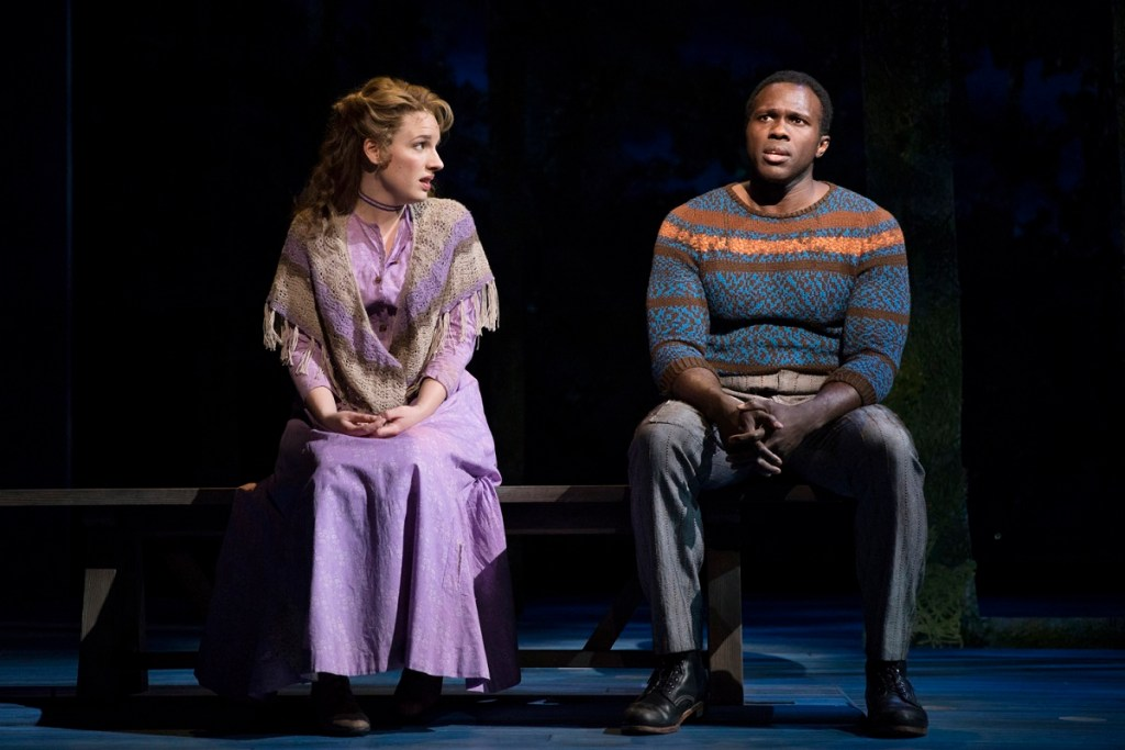 Jessie Mueller and Joshua Henry in Carousel. Photo: Julieta Cervantes