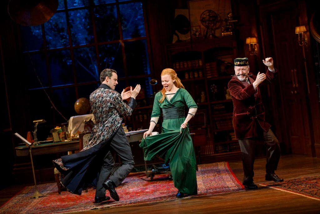 Harry Hadden-Paton, Lauren Ambrose and Allan Corduner in My Fair Lady. Photo: Joan Marcus