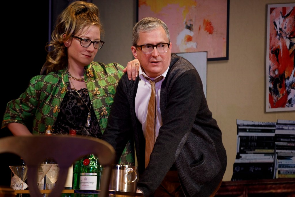 Annie McNamara and Vin Knight in Everyone's Fine with Virginia Woolf. Photo: Joan Marcus