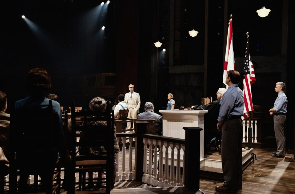 Jeff Daniels Celia Keenan Bolger And Members Of The Company In I