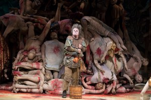Nathan Lane in Gary: A Sequel to Titus Andronicus. Photo: Julieta Cervantes