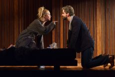 Haley Feiffer and Hamish Linklater in The Pain of My Belligerence. Photo: Joan Marcus