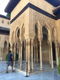 Plaster carved arches, Alhambra