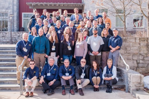 Class of MFI 2016 with Cadre in front by Paul Ries