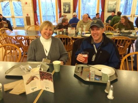 Karen Emmerich and Chris Larson Owen Croy