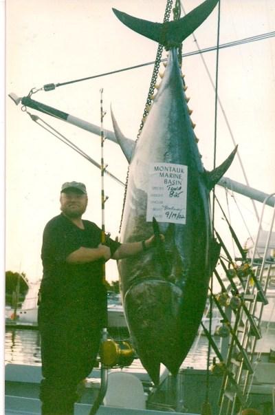 The 825-lb tuna