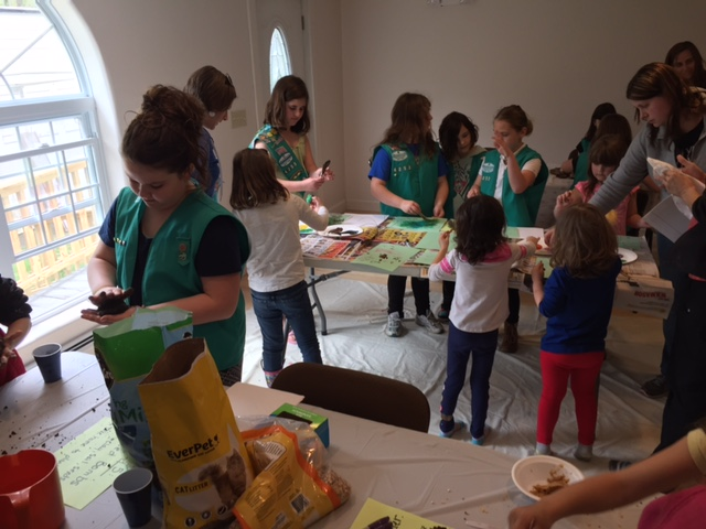 Seed balls and other craft activities for Champlain's kids.