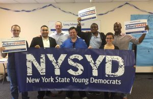 NYSYD Campaigning for Adam Haber