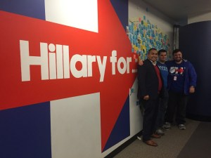 NYSYD at Hillary for America Headquarters in Brooklyn, NY