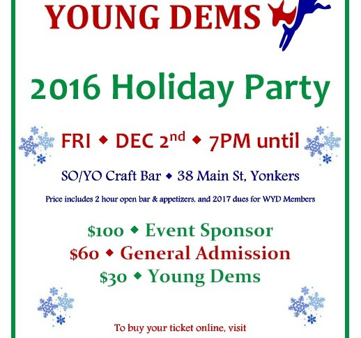 WYD 2016 Holiday Party