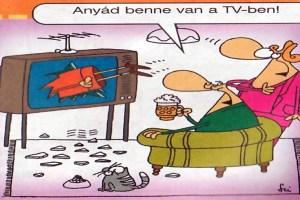 Anyós a TV-ben