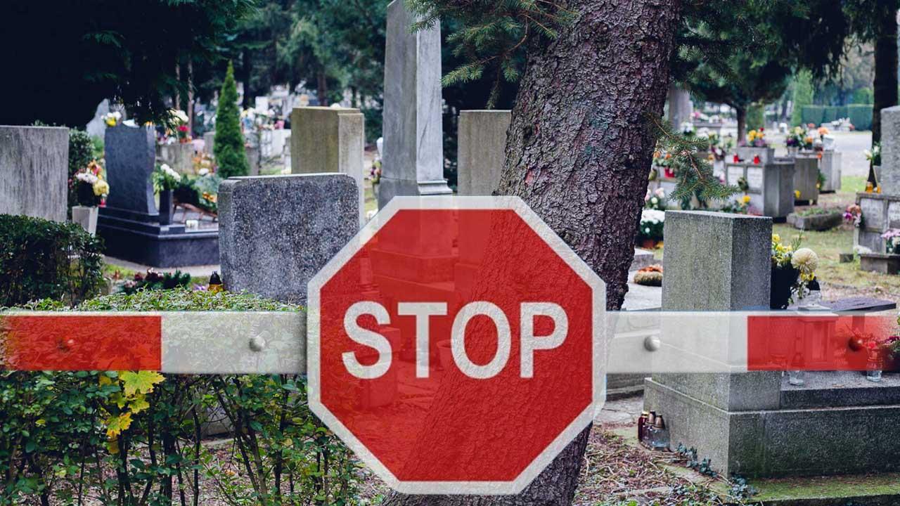 A temetőlátogatásra is vonatkozik a kijárási korlátozás