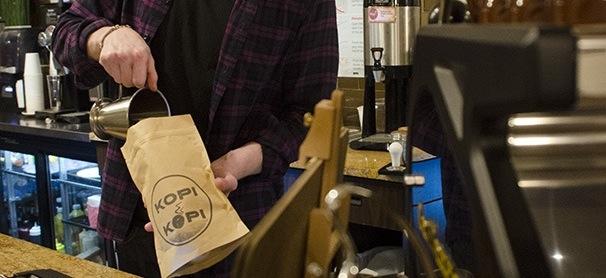 Neighborhood coffee shops offer discounts, board games
