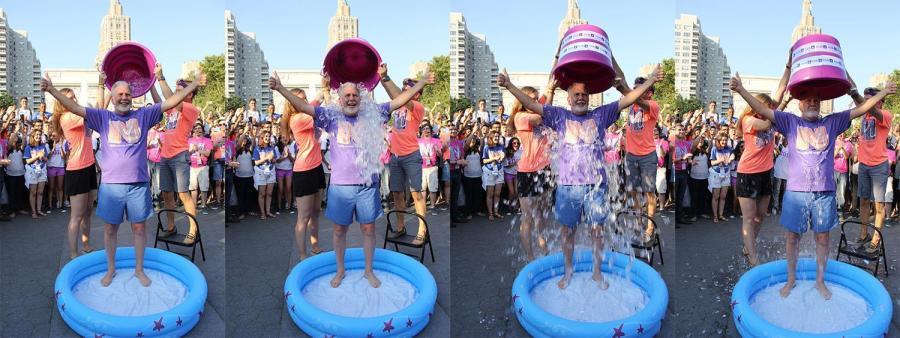 John Sexton completes ALS Ice Bucket Challenge