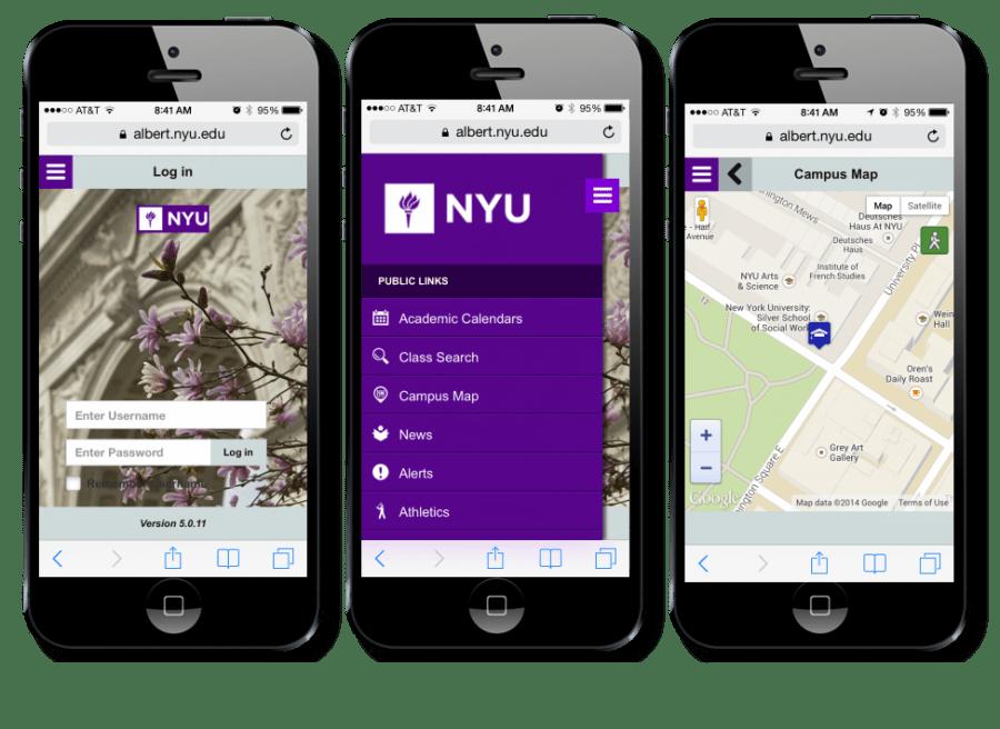NYU launches Albert Mobile