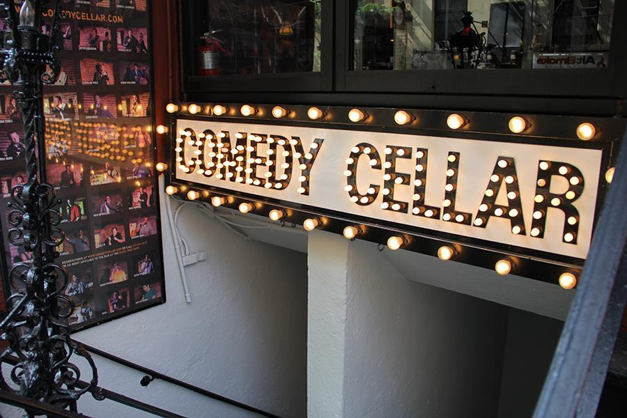 Comedy club, many of which can be found in the nearby West Village, are a common non-alcoholic  night out activity. (Photo by Shawn Paik)