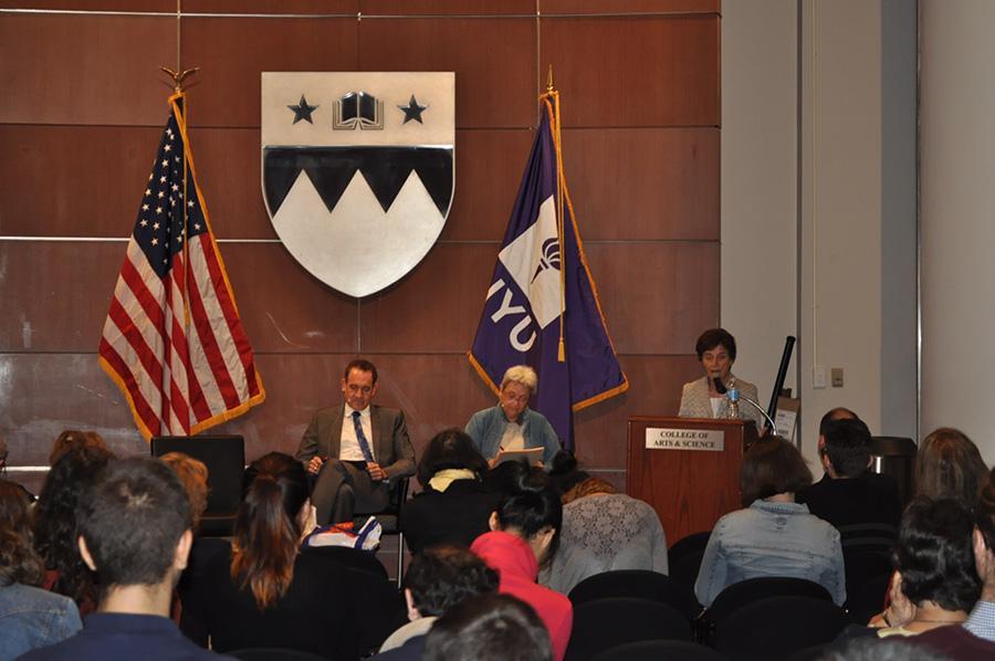 Panel speaks on Watergate's legacy