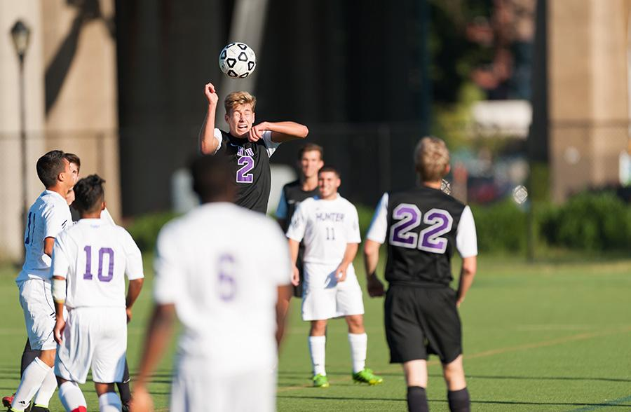 Penalty kick gives Violets the win