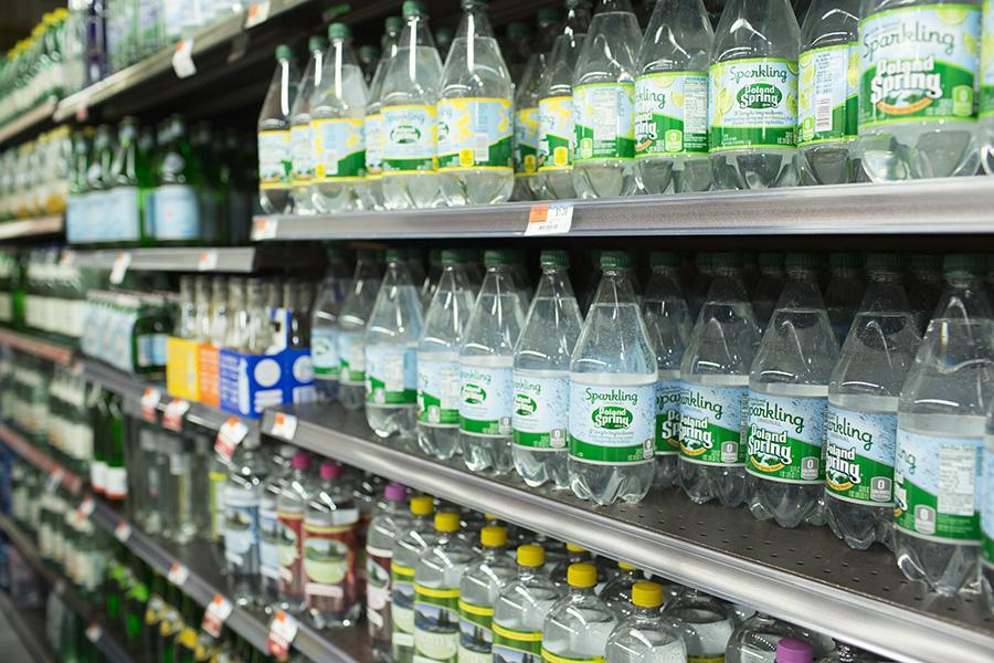 Companies like Poland Spring have caught on to the sparkling water trend.