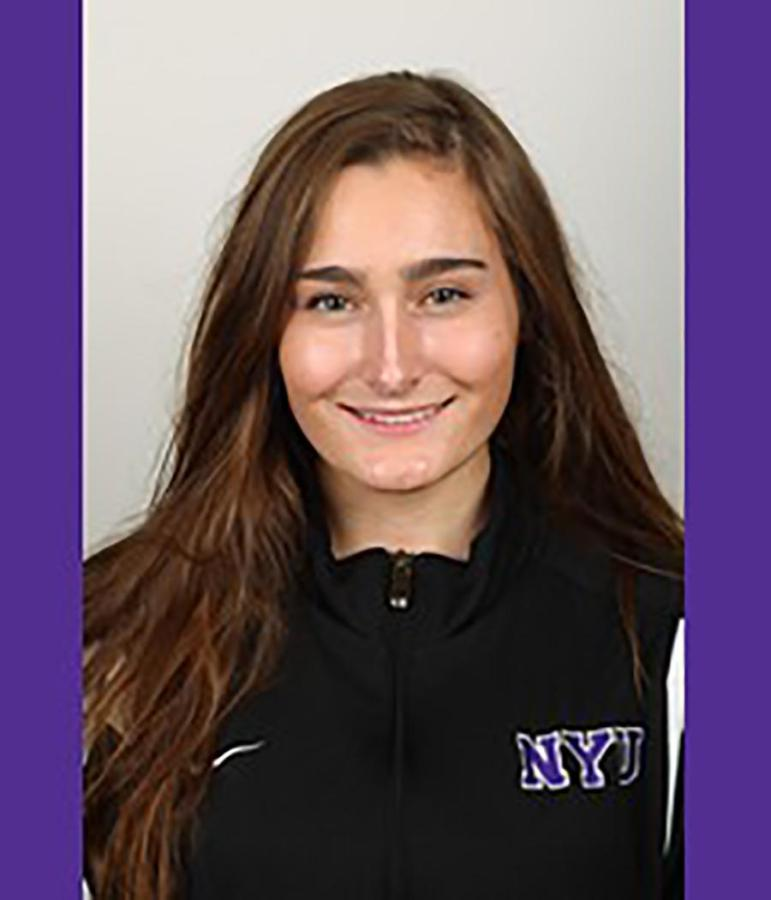 Austin Campitelli won multiple Diver of the Meet honors for her recent victories at the UAA Championships at Emory University. Despite her national success, she dreams of going to medical school to work in pediatric care in developing countries.