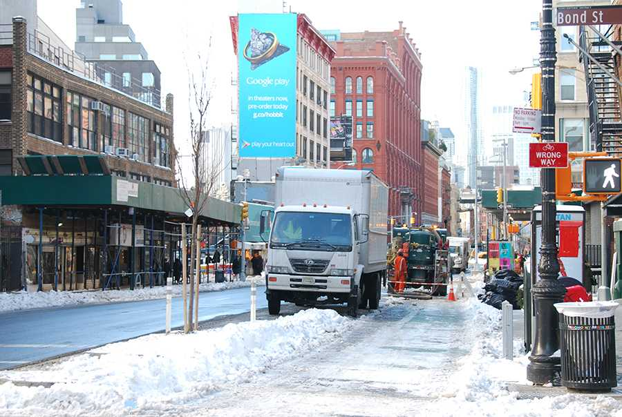 NYU has announced that school not be closed due to weather.