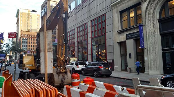 The NYU community will prepare for disruption in their commute due to the start of city construction on 4th street.