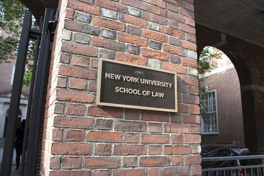 The NYU Law school just received its biggest donation in history.