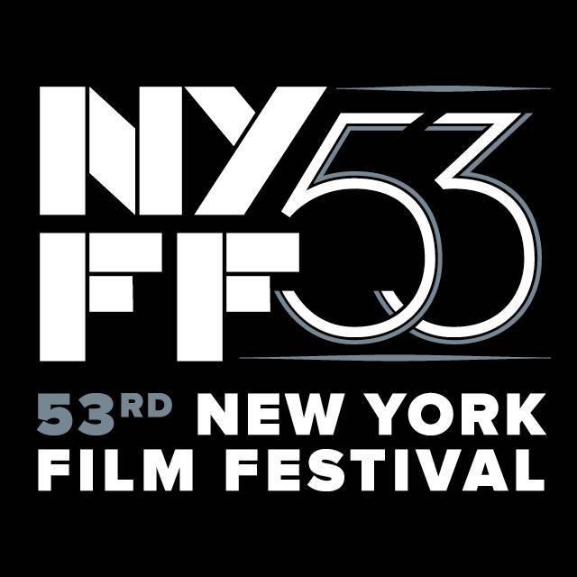 The 53rd New York Film Festival runs September 25 - October 11 at the Film Society of Lincoln Center.