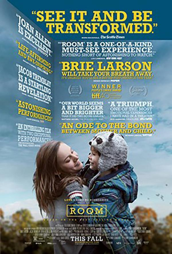 Room is a 2015 Canadian-Irish drama film directed by Lenny Abrahamson based on Emma Donoghue book of the same name.