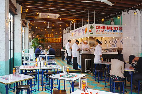 The Mexican restaurant chain Tacombi opened their newest location on Bleeker and Cornelia.