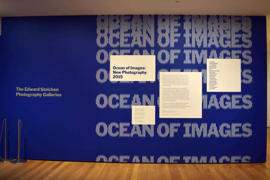 Ocean of Images: New Photography is the latest exhibition at the Museum of Modern Art.