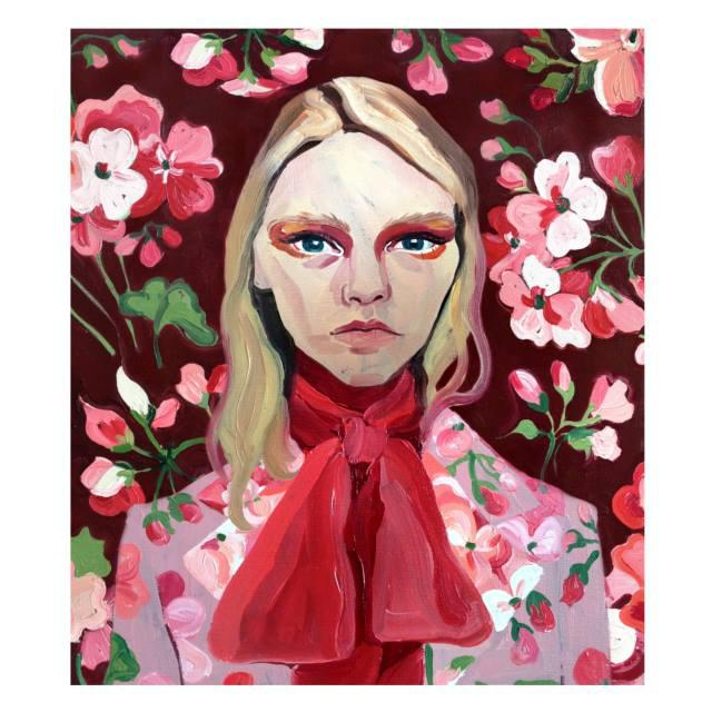An+illustration+by+Gill+Button+-+one+of+the+31+artists+commissioned+by+Alessandro+Michele+for+%23guccigram.