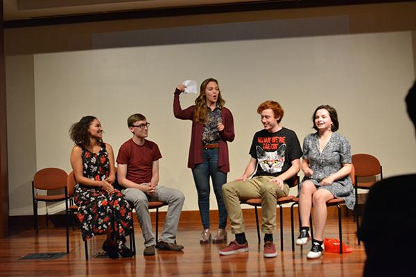 Hammerkatz, an NYU sketch comedy group and longform improv troupe, is teaming up with Dangerbox on Nov. 14 to put on a show free of charge.