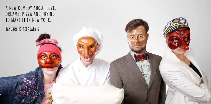 Commedia Dell'Artichoke tells the story of a pizza shop owner in New York City, through music, masks and improve.