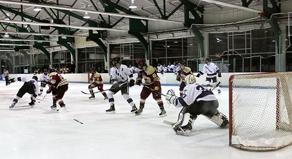 NYU Men's Hockey beat William Paterson University 2-1 on Friday and continued on to defeat Boston College 5-1 on Sunday at Chelsea Piers.