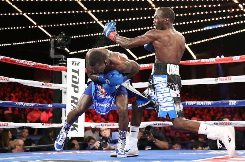 Terence Crawford remained on a tear in the boxing world with a win at the Madison Square Garden Theater over the weekend.