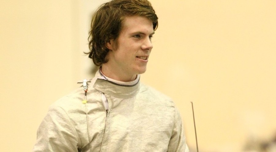 Freshman Grant Williams led the men's fencing team with 8-0 in sabre.