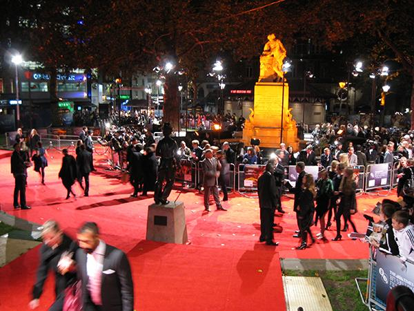 The publicity surrounding film festivals now allows for the event to become a showcase for fashion in addition to cinema.