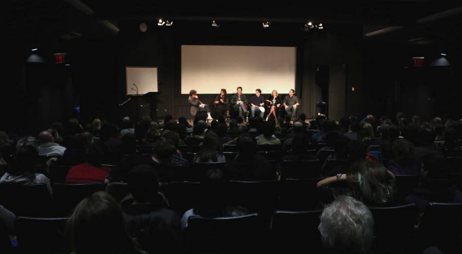 """Director Janet Grillo discusses the movie """"Jack of the Red Hearts"""" with cast members, Scott Cohen, John D'Leo and AnnaSophia Robb."""