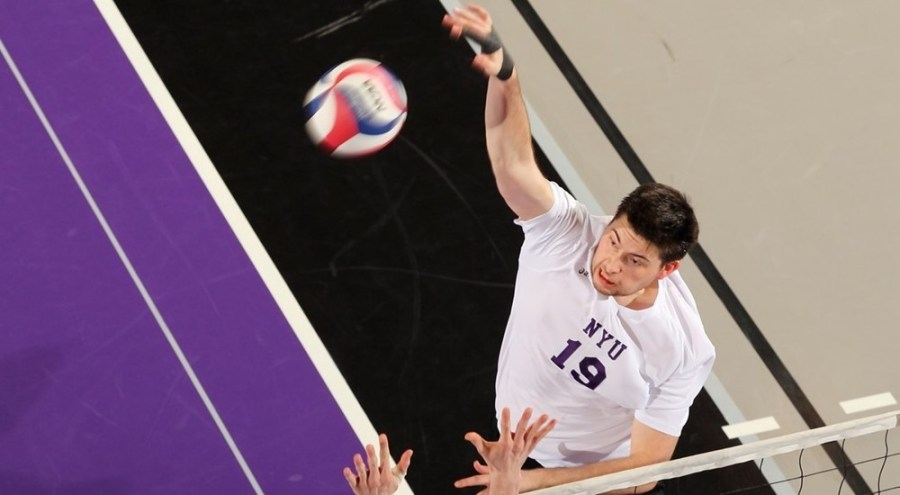 NYU mens' volleyball was defeated by Steven's Institute of Technology in three straight sets.