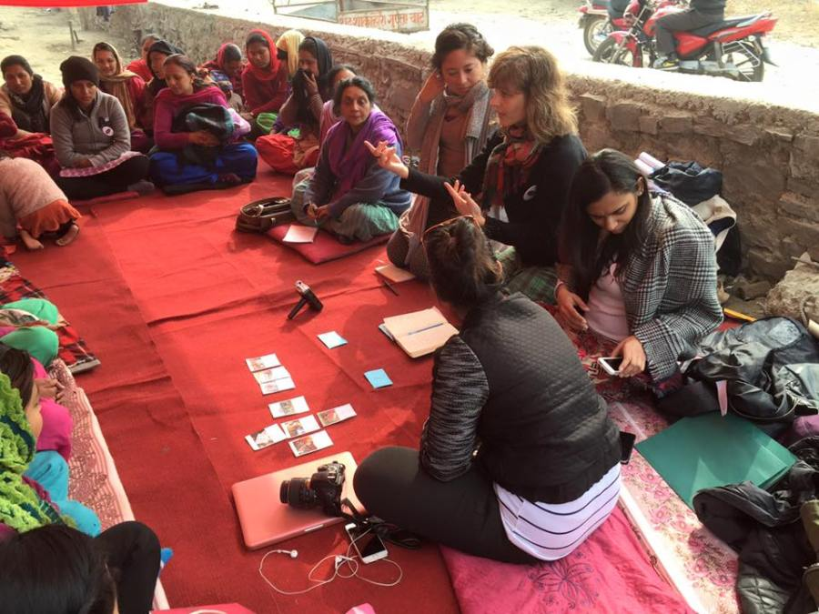 NYU Students Social Impact Project Empowers Women in Nepal