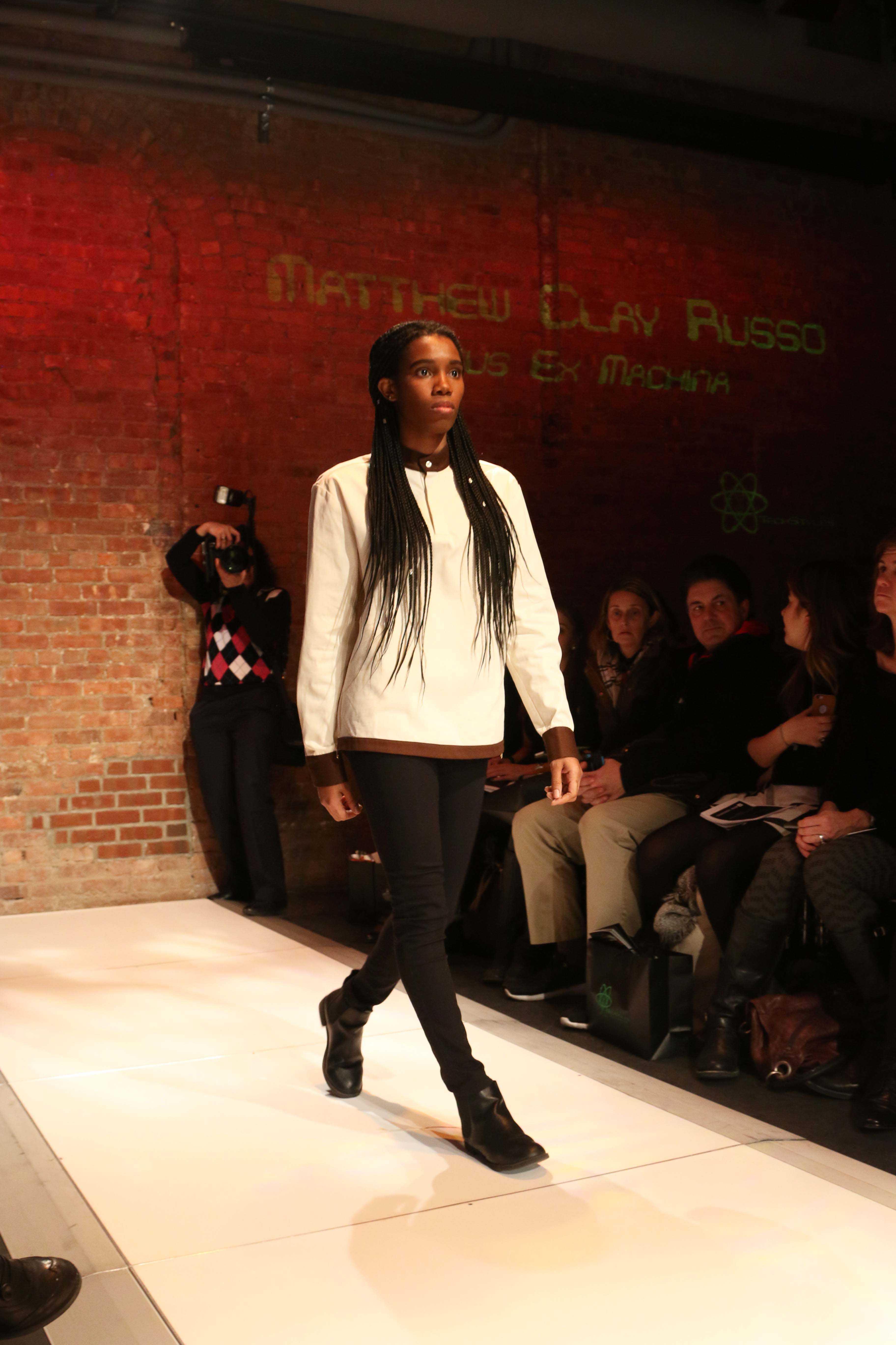 Gallatin Show Fashions Techstyles Washington Square News