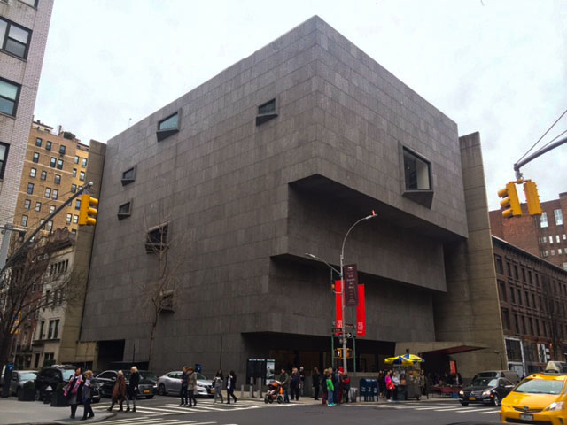 The new Metropolitan museum, the Met Breuer, opened to the public on March 18.