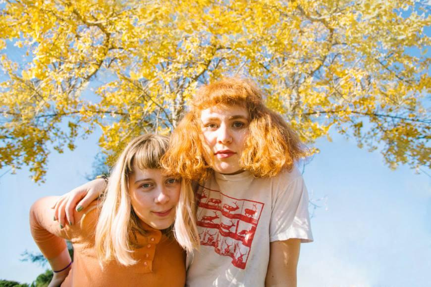 Cleo Tucker and Harmony Tividad are the dynamic musical duo, Girlpool.