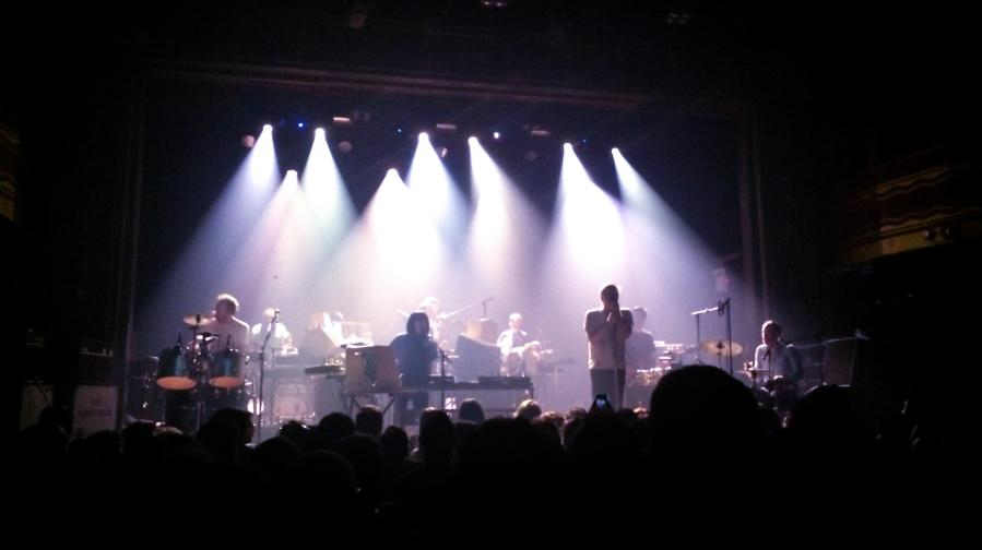LCD Soundsystem played at Webster Hall on the 27th of March for their loyal fans, five years since their last show.