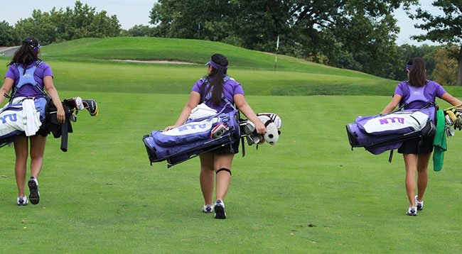Junior Mikaela Santos, sophomore Kristin Lee and freshman Jenni Bluetling won eighth place in a three-way tie.