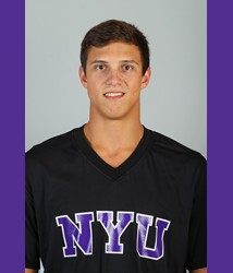 Costis Gontikas of the NYU Men's Basketball Team played in the Gotham Hoops Invitational on Saturday.
