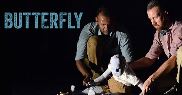 """Brits Off Broadway is performing Ramesh Meyyappan's """"Butterfly"""" at the 59E59 Theater at 59 East 59th Street through May 14."""