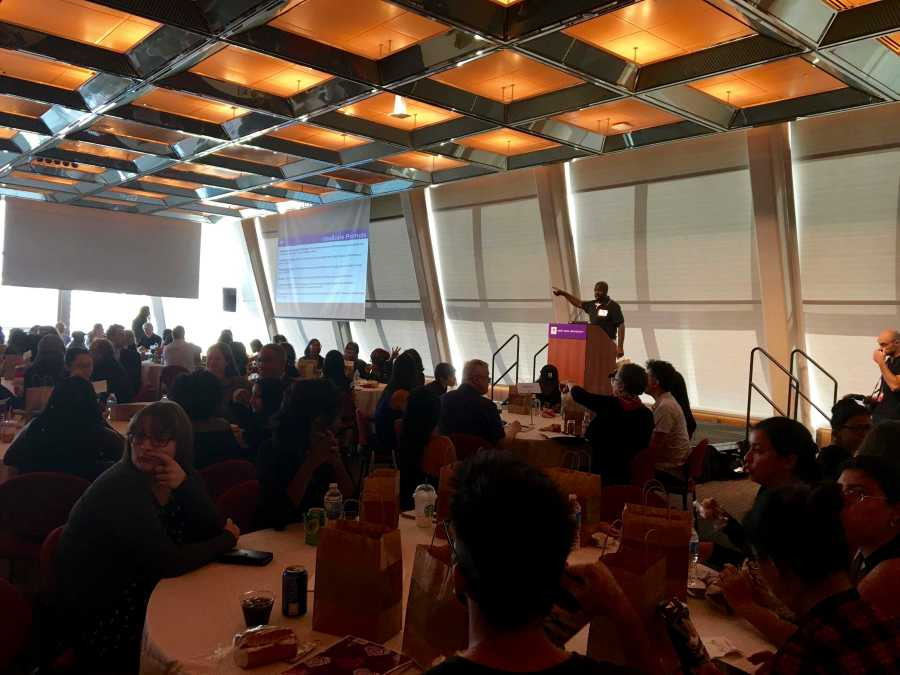 Following recent cases of police brutality, NYU students and staff members are responding in numerous ways. To commemorate lives lost, NYU's Equity, Diversity and Inclusion Advisory Task Force hosted the NYU Together: Equity, Diversity, and Inclusion event on Friday.